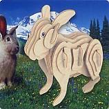 나무공작/토끼
