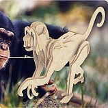 나무공작/원숭이