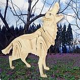 나무공작/늑대/나무판2장