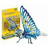 나비/3D퍼즐곤충조립/우드락재질