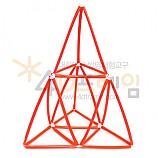 4D프레임 시에르핀스키 피라미드 (이등변 1단계)