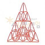 4D프레임 시에르핀스키 피라미드 (이등변 2단계)