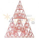 4D프레임 시에르핀스키 피라미드 이등변 3단계