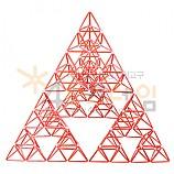 4D프레임 시에르핀스키 피라미드 (정삼각 3단계)
