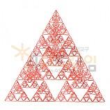 4D프레임 시에르핀스키 피라미드 (정삼각 4단계)