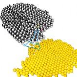 20%↓> 6mm플라스틱구슬+철구슬세트/혼합물의분리구슬