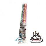케이크용초/생일양초/생일초/17cm