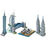 세계 유명 미니 건축물 시리즈 3 - 아시아/대양주