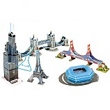 세계 유명 미니 건축물 시리즈 1 - 미주/유럽