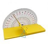 노랑색 나만의태양고도측정기만들기/1인용/학습꾸러미