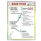 응급상황처리과정판넬/공용