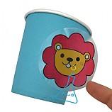 색깔이 변하는 신기한 종이컵/1인용/열변색스티커/학습꾸러미
