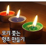 모기쫓는향초만들기/10인용