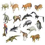 교과서에나오는세계의동물들/16종