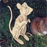 나무공작/ 생쥐/나무판2장