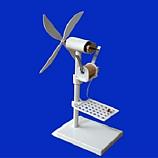 바람으로회전하는풍력발전기