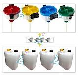 폐시약안전깔대기/폐수통깔대기/폐수통포함