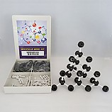 다이아몬드결정구조모형(70개입)/조립형