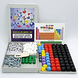 분자구조모형조립세트/설명용20종401점