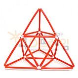 4D프레임 시에르핀스키 삼각형 (정삼각 1단계)