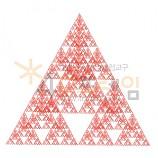 4D프레임 시에르핀스키 피라미드 (정삼각 6단계)
