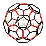 4D프레임 축구공의 수학비밀 깎은정이십면체 1