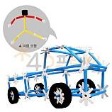 4D프레임 무동력자동차(사람모형추가)