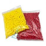 솜방울/폼폼이/뽁뽁이/빨간색,노란색