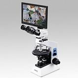 쌍안 멀티미디어 편광 현미경 OMB-PV400T